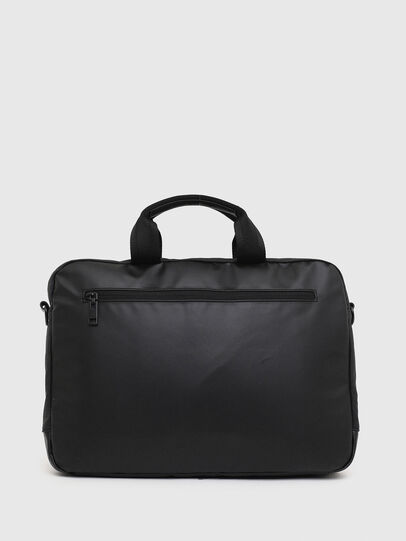 Diesel - D-SUBTORYAL BRIEF, Black - Briefcases - Image 2