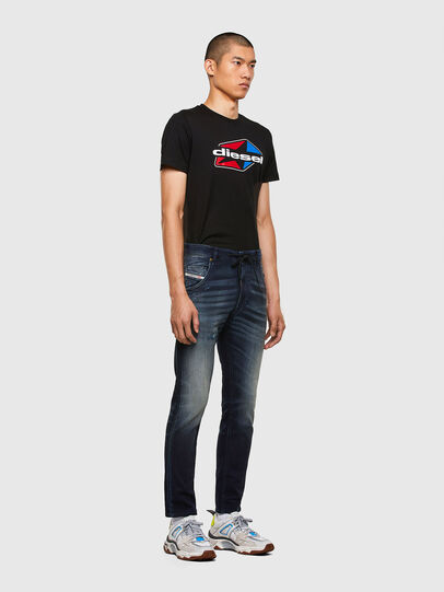 Diesel - KROOLEY JoggJeans® 069QD, Dark Blue - Jeans - Image 5