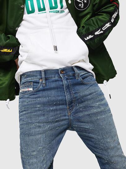 Diesel - D-Reeft JoggJeans 069HG, Medium blue - Jeans - Image 5