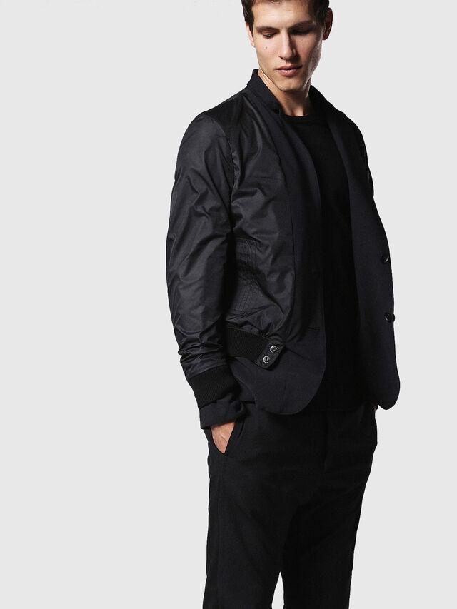 Diesel - J-ETERYS, Black - Jackets - Image 3