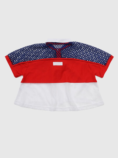Diesel - TVAITEA, Red/White - T-shirts and Tops - Image 2