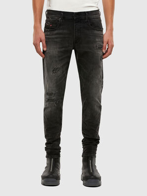 D-Strukt 069RC, Black/Dark grey - Jeans