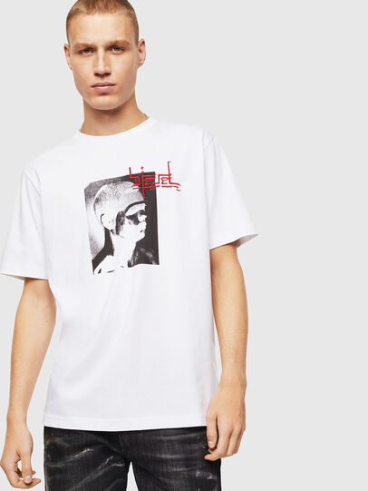 Diesel - T-JUST-J21, White - T-Shirts - Image 1