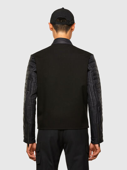 Diesel - W-SHARK, Black - Winter Jackets - Image 2
