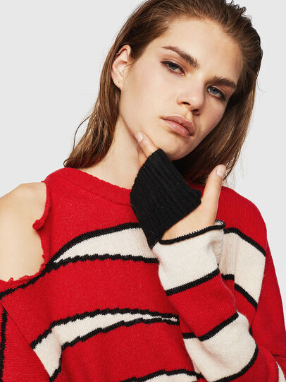 Diesel - M-PAPERY, Red - Knitwear - Image 5