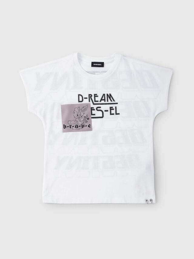 Diesel - TSOLARY, White - T-shirts and Tops - Image 1