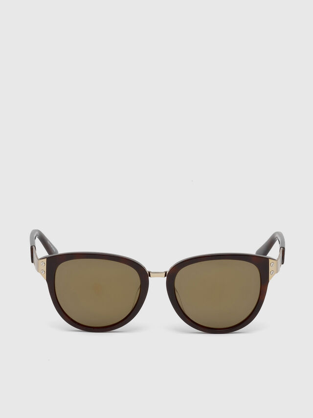 Diesel DL0234, Brown - Eyewear - Image 1