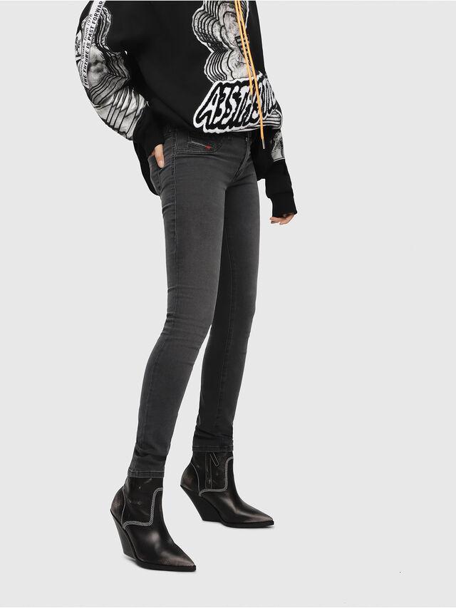 Diesel - Livier 069CW, Black/Dark grey - Jeans - Image 1