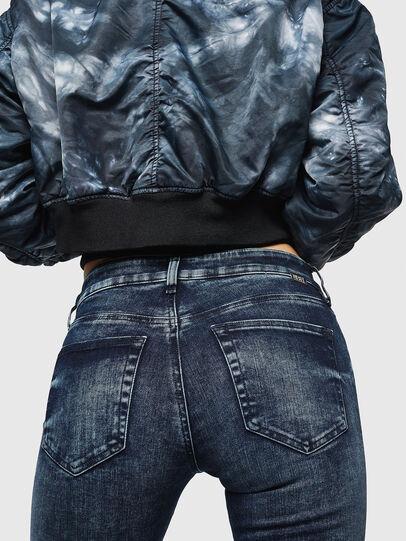 Diesel - Slandy Zip 069GW, Dark Blue - Jeans - Image 3