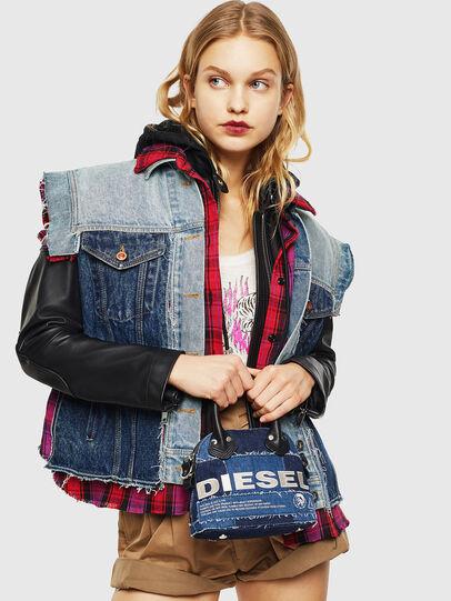 Diesel - PYANIGA S, Blue - Crossbody Bags - Image 7