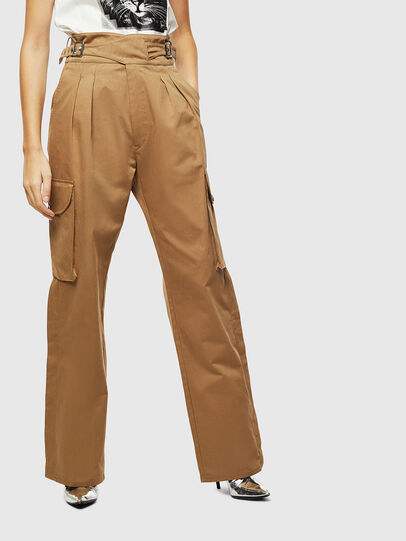 Diesel - P-CHIKU, Light Brown - Pants - Image 1