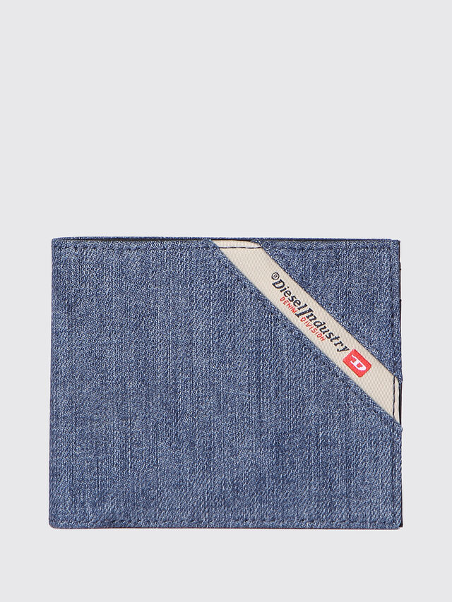 Diesel - HIRESH S, Blue Jeans - Small Wallets - Image 1