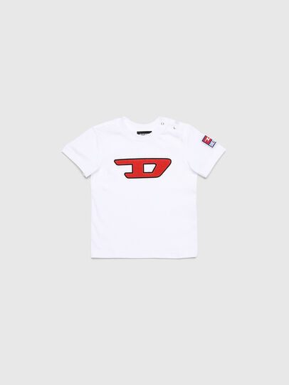 Diesel - TJUSTDIVISIONB-D, White - T-shirts and Tops - Image 1
