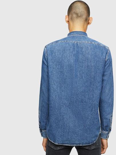 Diesel - D-BER-P, Medium blue - Denim Shirts - Image 2