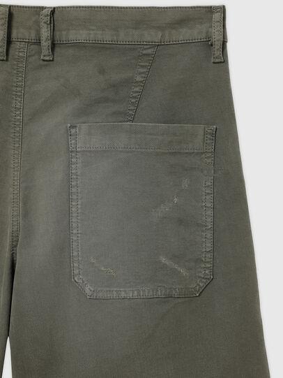 Diesel - D-AZERR-SHORT JOGGJEANS, Military Green - Shorts - Image 3