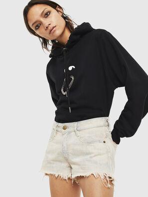 F-ANG-HOOD-S1, Black - Sweaters