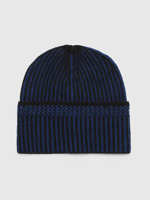 K-MANNYS, Black/Blue - Knit caps