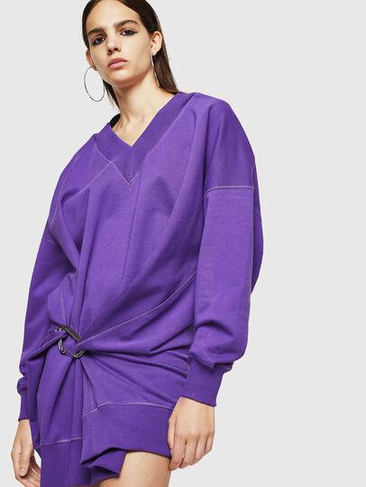 Diesel - D-KESAR-A, Violet - Dresses - Image 4