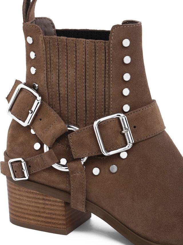 Diesel - DEIMOS, Beige - Dress Shoes - Image 4