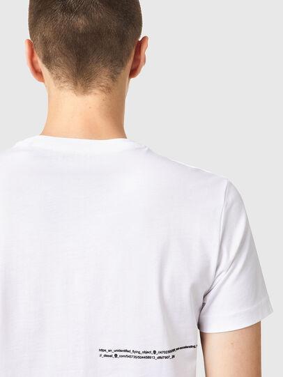 Diesel - T-DIEGOS-B21, White - T-Shirts - Image 3