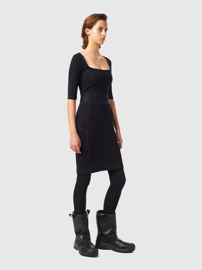 Diesel - D-SUBBY, Black - Dresses - Image 4