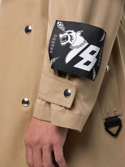 Diesel - J-JAY, Light Brown - Jackets - Image 5