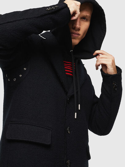 Diesel - W-BOGART, Black - Winter Jackets - Image 4