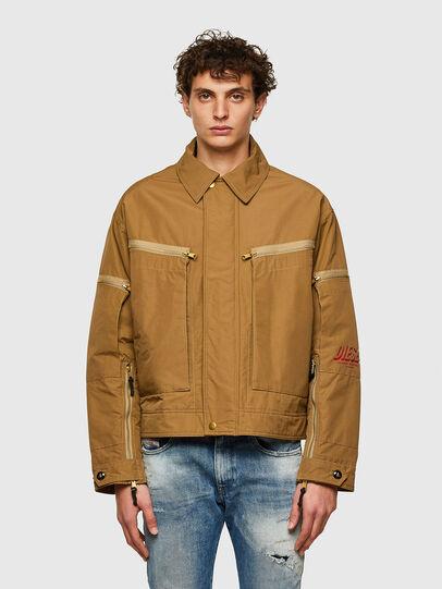 Diesel - J-THOMPSON, Light Brown - Jackets - Image 1