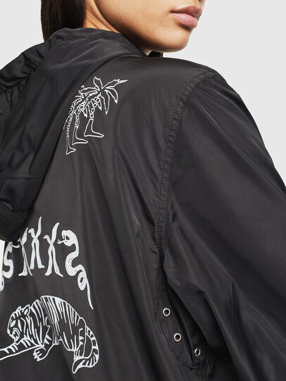 Diesel - J-HEAD, Black - Jackets - Image 6