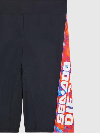 Diesel - BFPN-CYCLERDOO, Black/Orange - Swim shorts - Image 3
