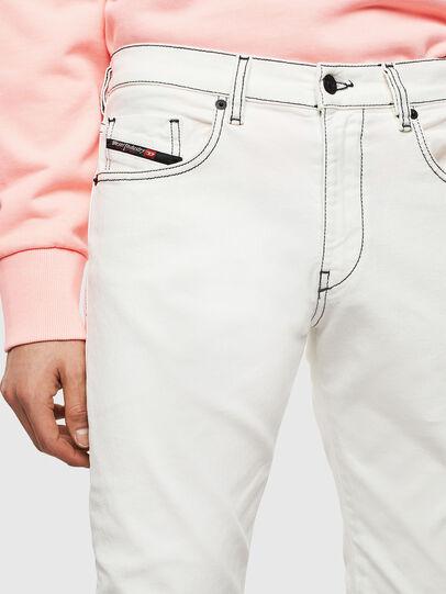Diesel - D-Strukt 009BF, White - Jeans - Image 3