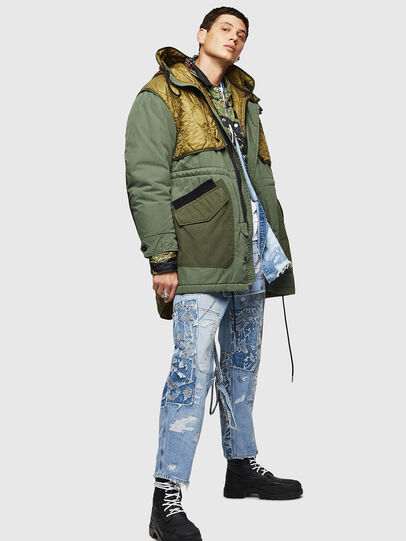 Diesel - W-KOVIK, Military Green - Winter Jackets - Image 6
