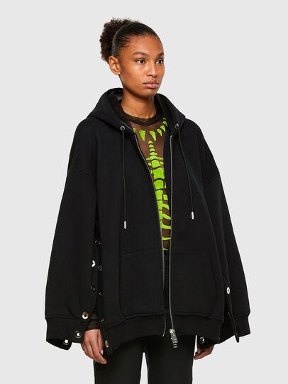 Diesel - F-GLORIOUS, Black - Sweaters - Image 5