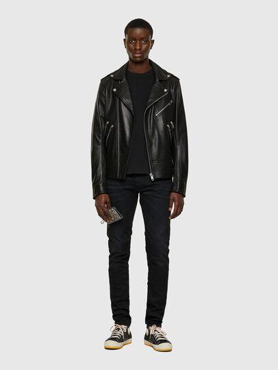 Diesel - L-GARRETT-A, Black - Leather jackets - Image 6