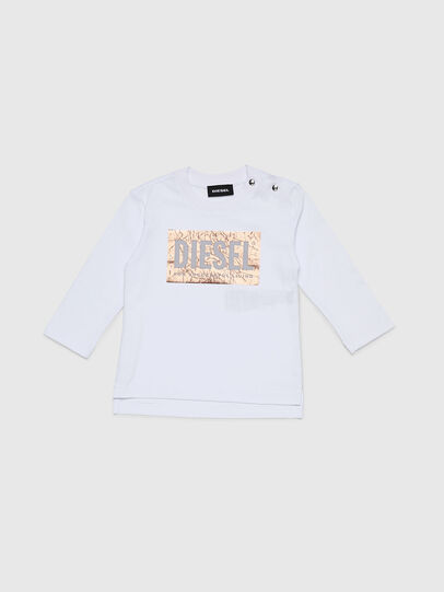 Diesel - TIRRIB, White - T-shirts and Tops - Image 1