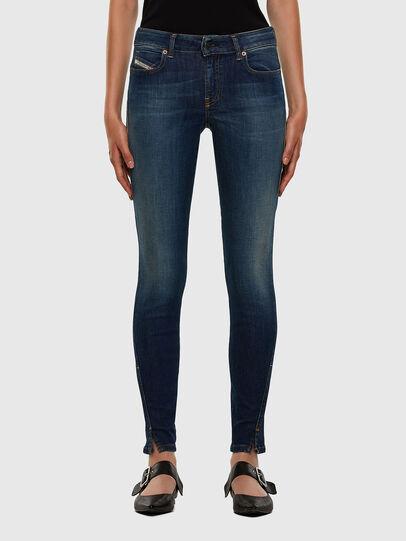 Diesel - D-Jevel 009HL, Dark Blue - Jeans - Image 1