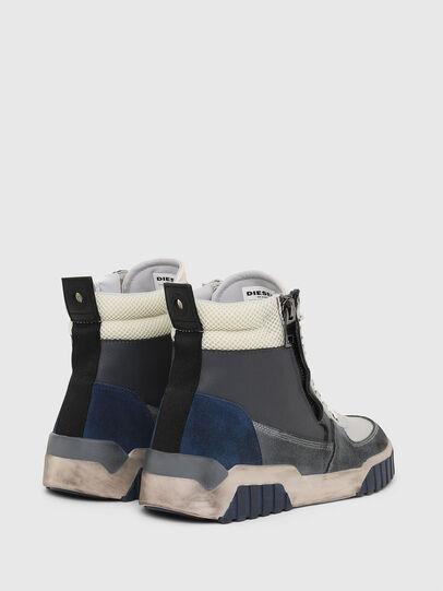 Diesel - S-RUA MID, Grey - Sneakers - Image 3