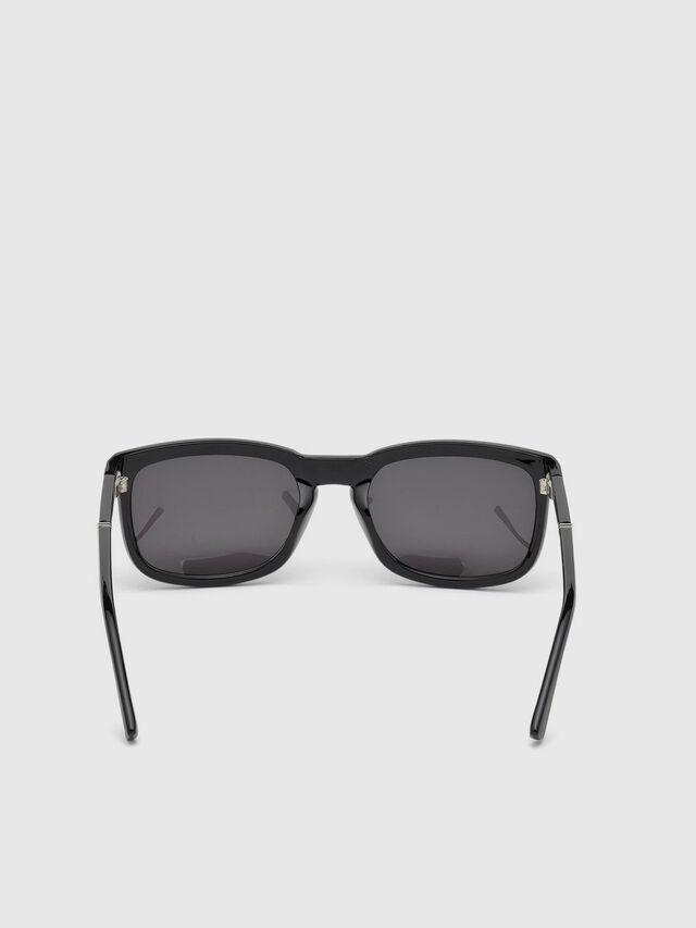 Diesel DL0262, Black - Eyewear - Image 4