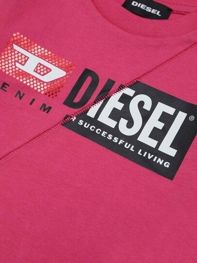 Diesel - TDIEGOCUTYB-FL ML, Pink - T-shirts and Tops - Image 3