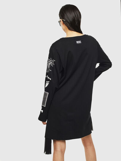 Diesel - T-ROSY-A, Black - T-Shirts - Image 2