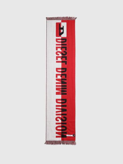 Diesel - STEDIO, Red/Black - Scarf - Image 2