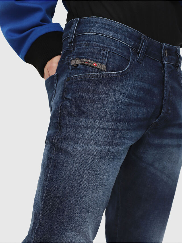 Diesel - D-Bazer 084GR, Dark Blue - Jeans - Image 3