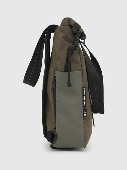 Diesel - SHIGA, Green Camouflage - Shopping and Shoulder Bags - Image 3