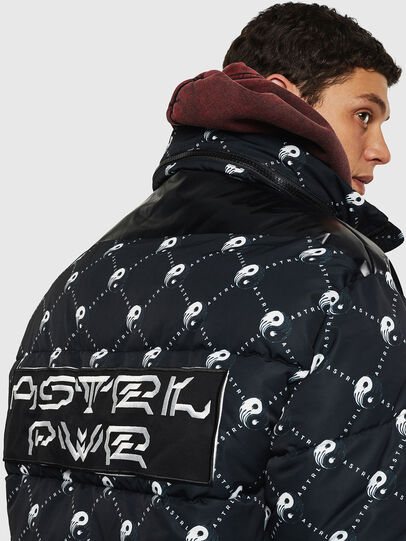 Diesel - W-PIATIG-PEACE, Black - Winter Jackets - Image 6