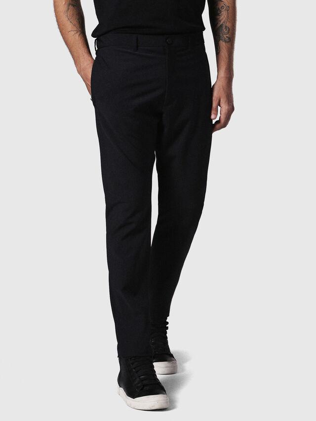 Diesel - P-OLIVERY, Black - Pants - Image 3