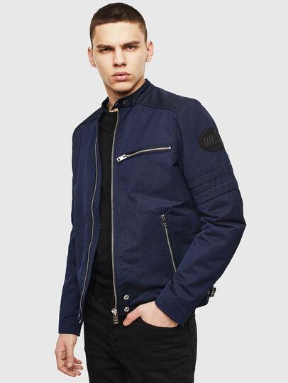 Diesel - J-GLORY, Dark Blue - Jackets - Image 6