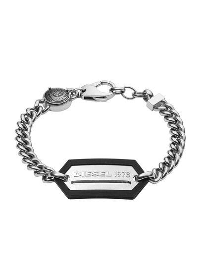 Diesel - BRACELET DX0992, Silver - Bracelets - Image 1