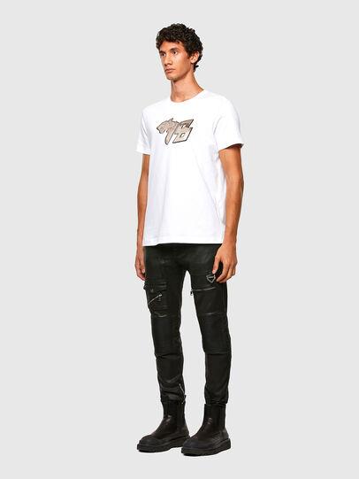 Diesel - T-DIEGOS-N29, White - T-Shirts - Image 5