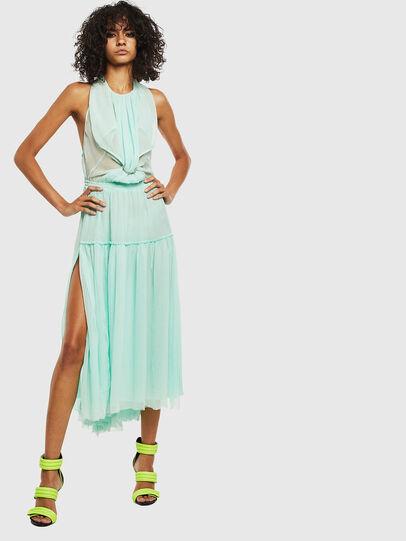 Diesel - D-TANGI, Azure - Dresses - Image 5