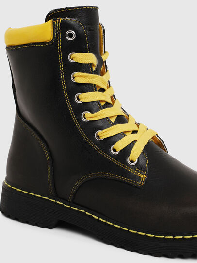 Diesel - HB LACE UP 04 YO, Black - Footwear - Image 4